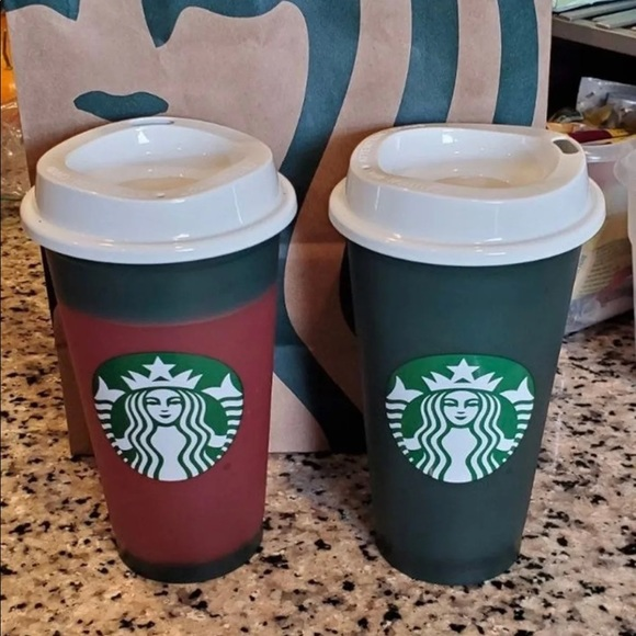 Starbucks Color Changing Cups Holiday 2020